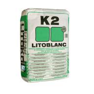 Litoblank K2 - Adeziv alb pe baza de ciment , 25 kg