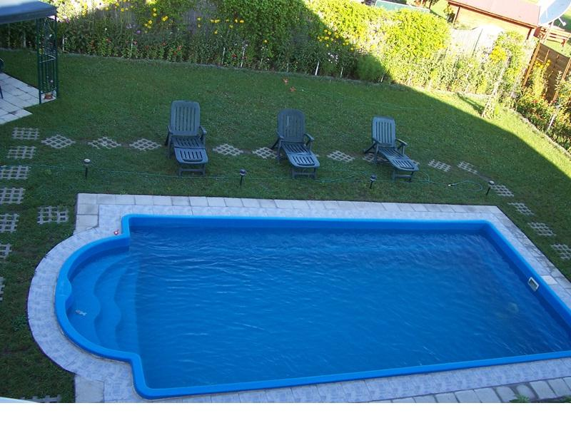 Piscina romana 780 x 360 x 145 165 cm piscine fibra de for Piscine fibra de sticla