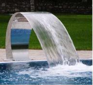 Cascada piscina Swan