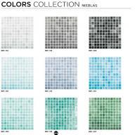 Mozaic seria colors - Nieblas